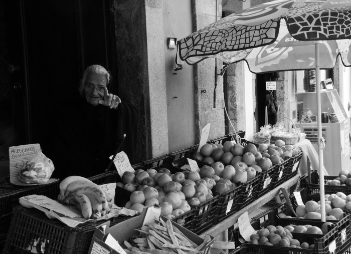 Fruit Seller, Spain